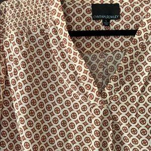 Cynthia Rowley Tops - Silk blouse